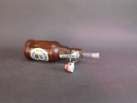Flasch-Flens mit einem herausnehmbaren Reagenzglas mit Stopfen für ...?