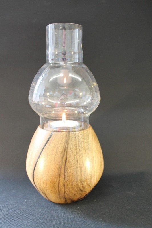 Windlicht Nussbaum a